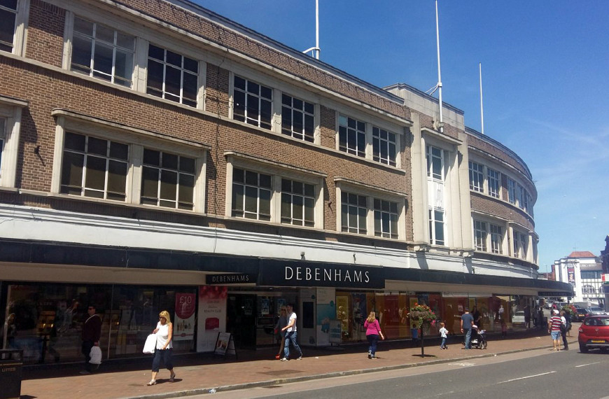 Former Debenhams Store, Taunton, Somerset
